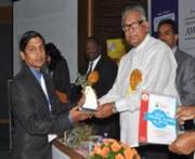 Business Excellence Award 2012 to NTSPL Chairman Sagar Mohanty