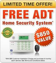 FREE ADT Home Alarm System from Home Security Las Vegas