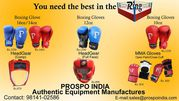 BOXING EQUIPMENT MANUFACTURER FROM PUNJAB