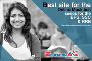 Best site for the online mock test series for the IBPS,  SSC &  RRB