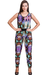 Buy Printed Jumpsuits Online India at Trendyfy- Special Discount