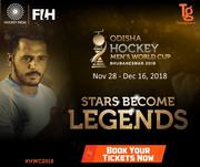 Hockey World Cup 2018  Book  Now