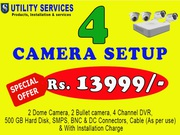 Get The Best Discounts in CCTV Camera on Durga Puja