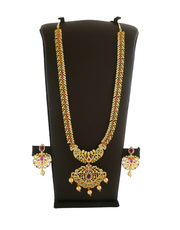 Buy Latest Gold Long Necklace Designs Collection at Best Price