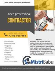 Electrician service,  Electrical Contractor in Bhubaneswar,  Puri, Odisha