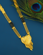 Get Online Collection of Latest Mangalsutra Designs at Low Price by Anuradha Art Jewellery