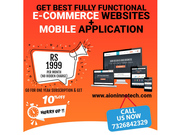 Unlimited Ecommerce Features + Mobile App Development