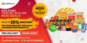 Delivery groceries application