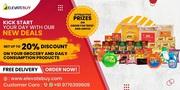 Online grocery app in Patia Bhubaneswar