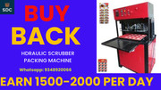 WITH BUY BACK AGREEMENT  SCRUBBER PACKING MACHINE, CALL-9348920066